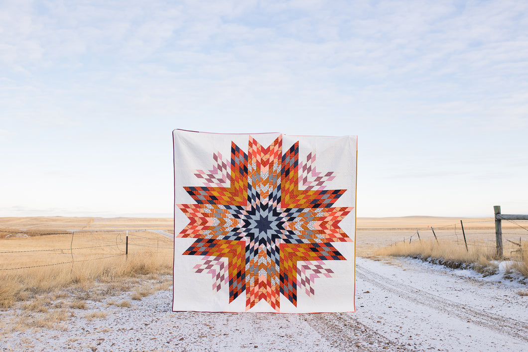 Big Sky Star Quilt Pattern - PDF