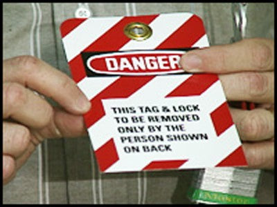 Lockout/Tagout - Energy Control