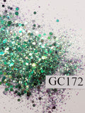 Irish Bling - Hexagon Mix-Small - GC172
