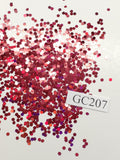 Red Red Wine - Hexagon - Chunky-Small - GC207