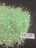 Spearmint - Hexagon Mix - Small - GC287