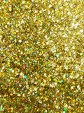 Gold Holographic - Hexagon Mix-Small - GC453
