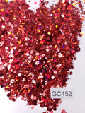 Hearts on Fire - Hexagon Mix - Small - GC452