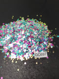 Hexagon Mix - Medium - GC697