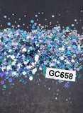 Hexagon Mix - Medium - GC658