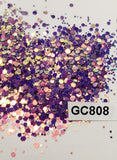 Wild Orchid - Hexagon Mix - Medium - GC808