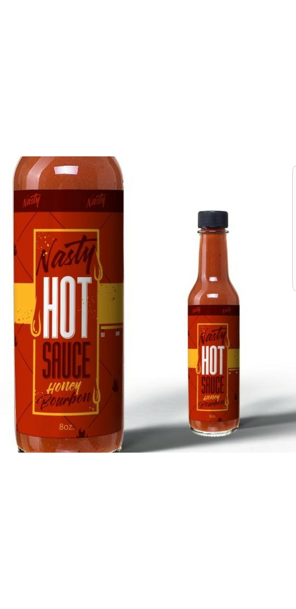 Nasty Honey Bourbon Hot Sauce
