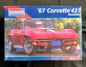 Monogram '67 Corvette 427 Roadster Model