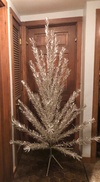 Vintage Fairyland 6.5' Aluminium Christmas Tree In Box