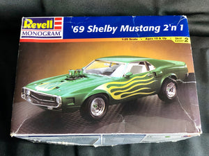 Revell '69 Shelby Mustang 2 in 1 Model