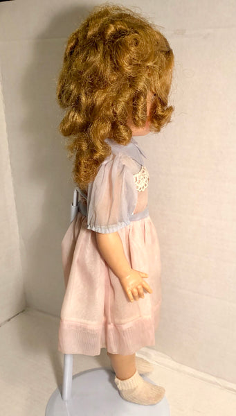 "Vintage ST-17 Ideal 17"" Shirley Temple Doll"