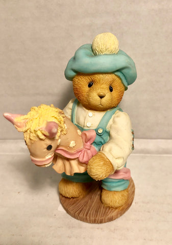 Cherished Teddies 1997 BENNY Let's Ride Through Life Together