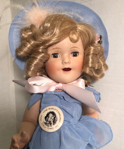 Danbury The Worlds Darling Shirley Temple Porcelain Doll