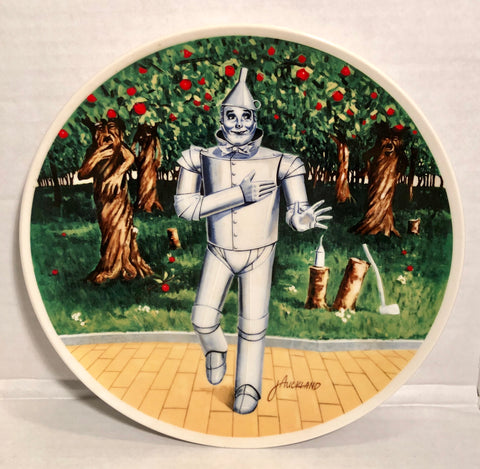 Wizard of Oz If I Only Had a Heart 1978 James Auckland Knowles Collectors Plate