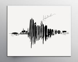 Voice note Art - Customized Silver