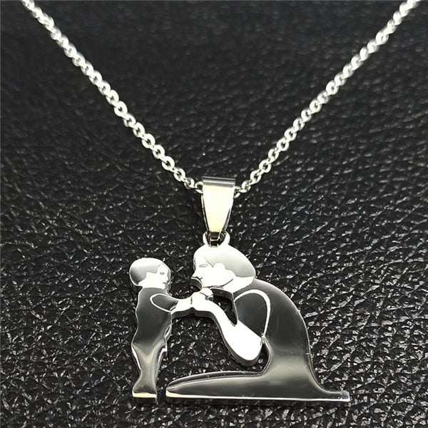 Mom-Daughter Necklace