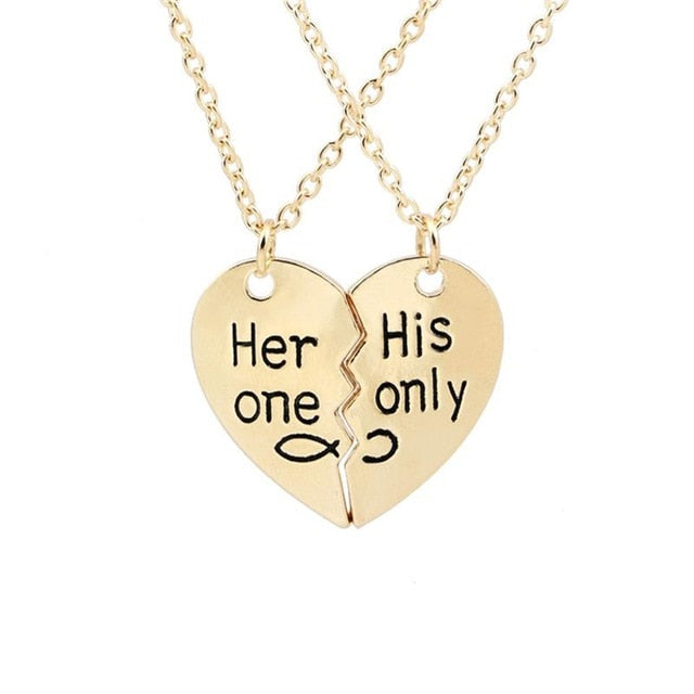 Her One and His Only Necklace