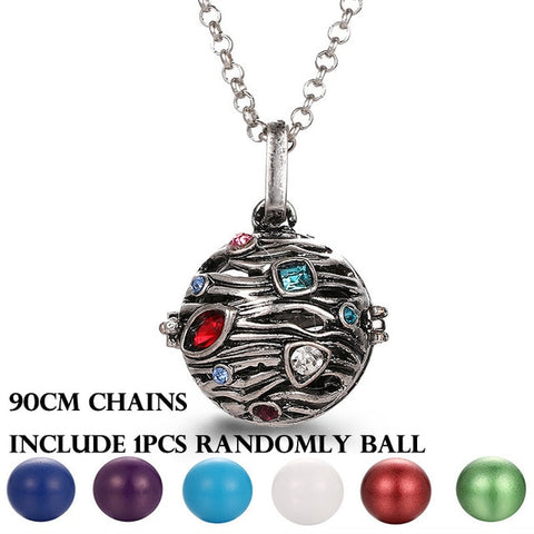 Locket Necklace (Harmony bell/ Angel Caller/ Bola Necklace