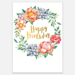 Sheet Mask Greeting Card