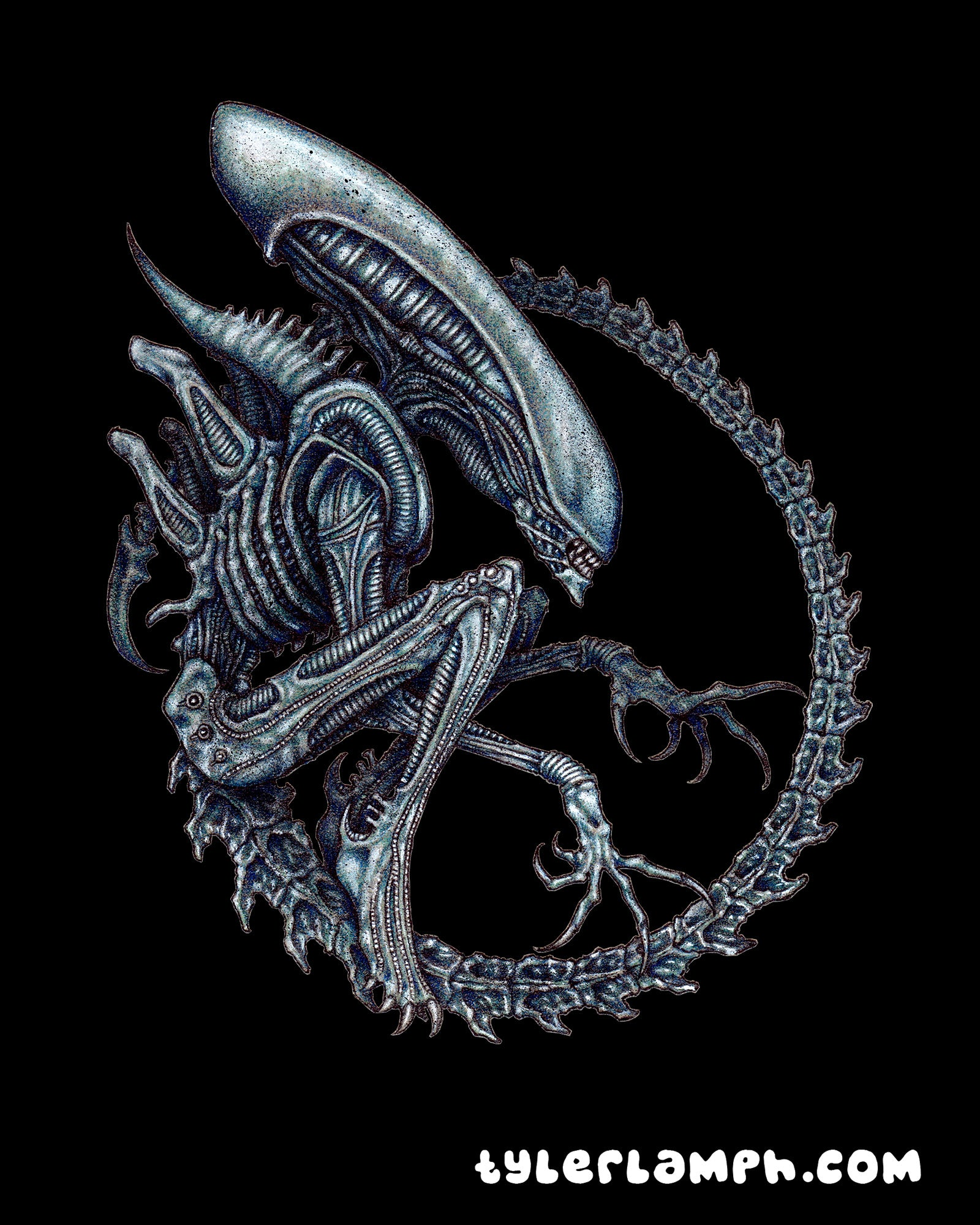 Xenomorph - Colored Version
