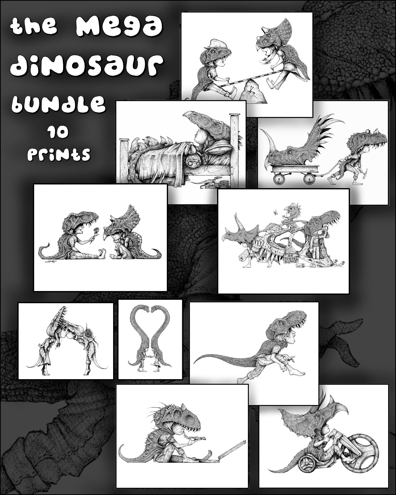 The Mega Dinosaur Bundle