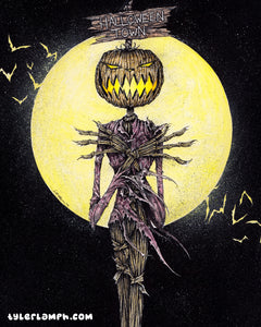 The Pumpkin King - Original Artwork