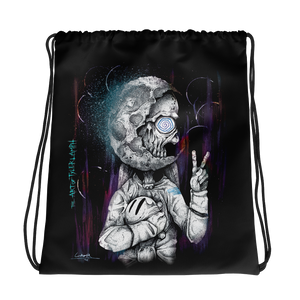The Spaceman Drawstring Bag