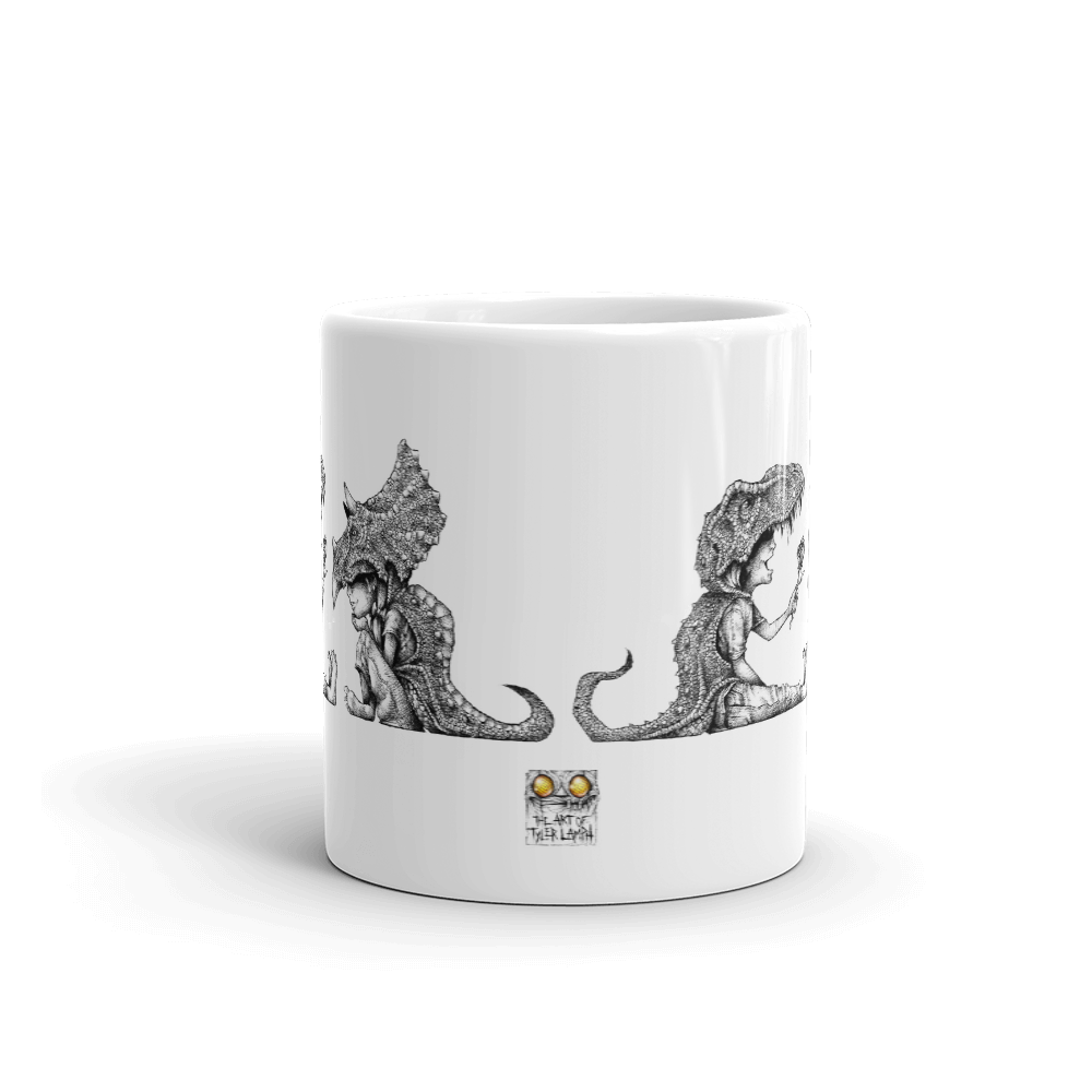 Without You, I'm A Tyrannosaurus Wreck Mug