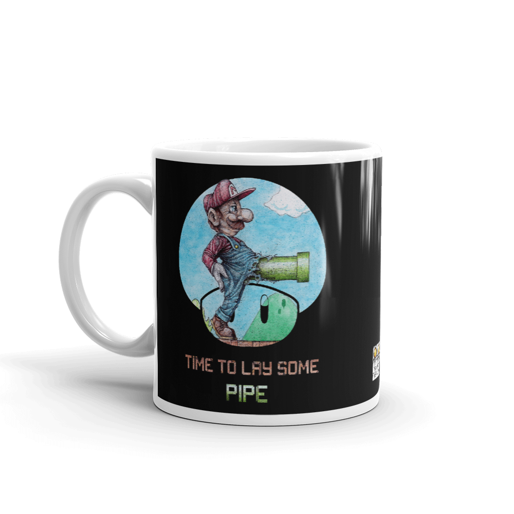Time To Lay Some Pipe Mug