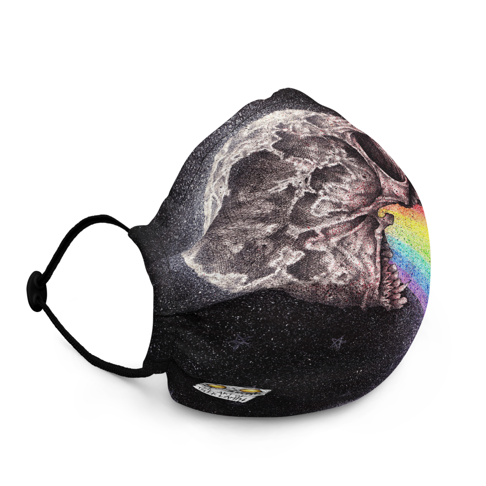 Nocturnal Rainbows Face Mask