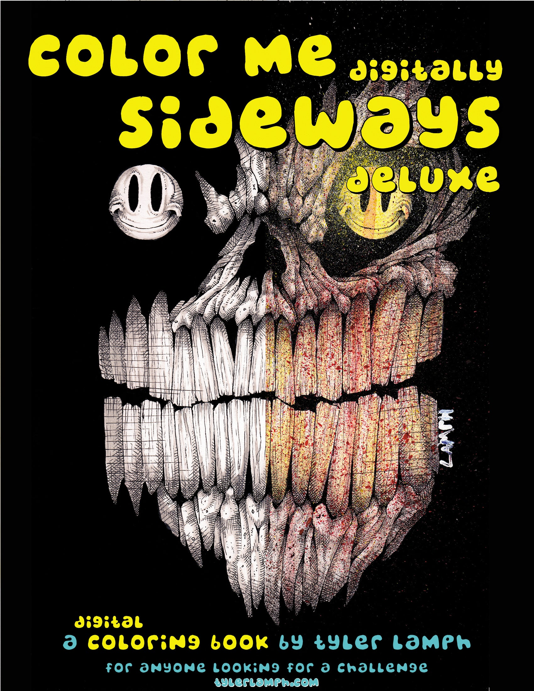 Color Me Sideways Deluxe - Digital Download