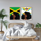 Virgin Islands Islandgirl Print (Large)