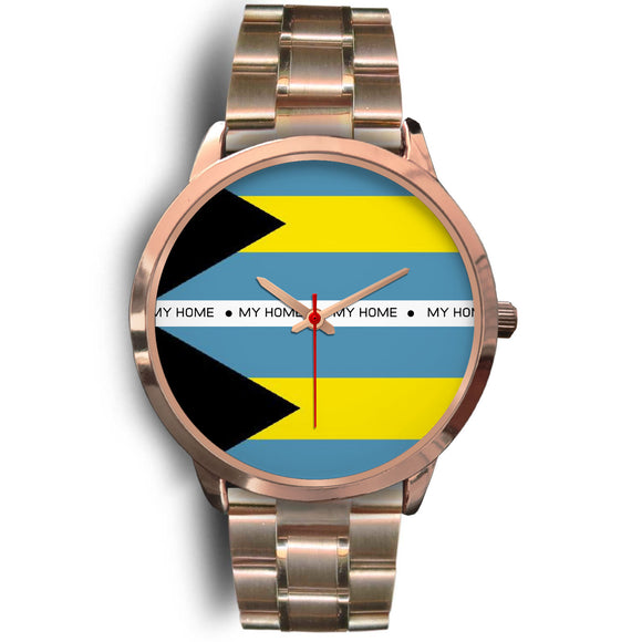 Bahamas Flag Watch Men