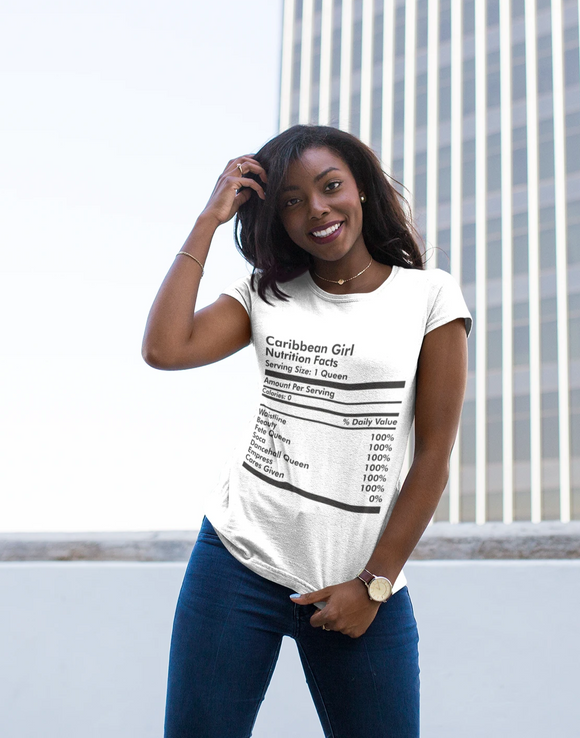 Caribbean Girl Nutrition T-Shirt