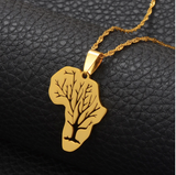 New Africa Tree of Life Necklace