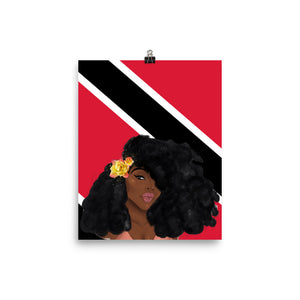 Trinidad & Tobago Islandgirl Print (Small-Medium)