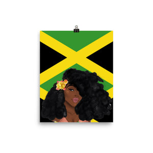 Jamaica Islandgirl Print (Small-Medium)