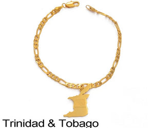 Trinidad and Tobago Bracelet & Anklet