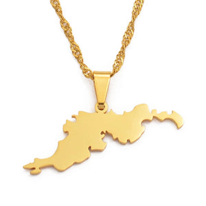 Tortola BVI Necklace