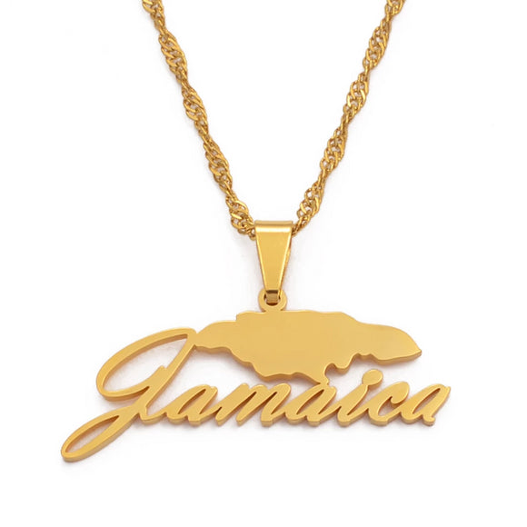 Jamaica Name Necklace
