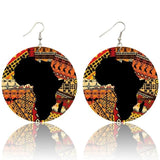 New Africa Art Earrings