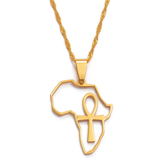 Ankh Africa Necklace