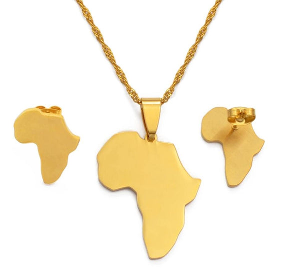 Africa Map Small Set