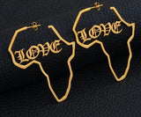 Africa Shape Hoops