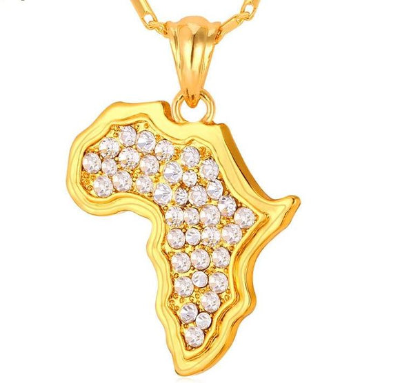 Crystal African Necklace