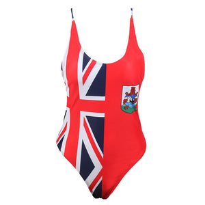 Bermuda One Piece Swimsuit