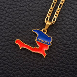 I LOVE HAITI Necklace