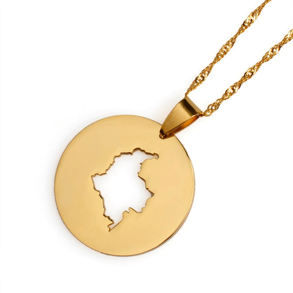 Colombia Circle Necklace