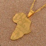 New Africa Unisex Necklace