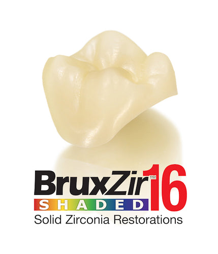 BruxZir® 16 Solid Zirconia Crown